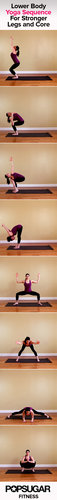 Yoga Sequence For Legs and Core | Poster