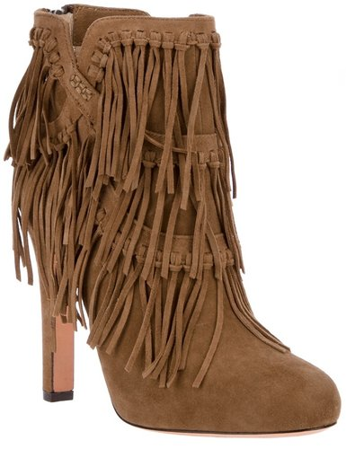 Jean-Michel Cazabat fringed ankle boot