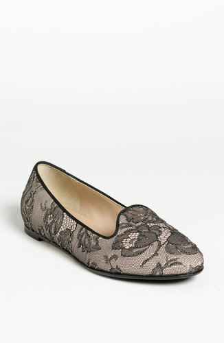 Valentino &#039;Lace Art&#039; Slipper