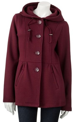 Burgundy Coat