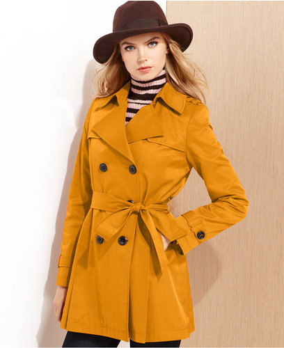 DKNY Raincoat, Cropped Trench Coat