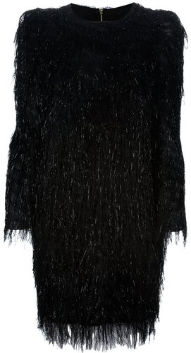 Msgm fringed dress