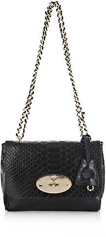 Mulberry Lily snake-print bag