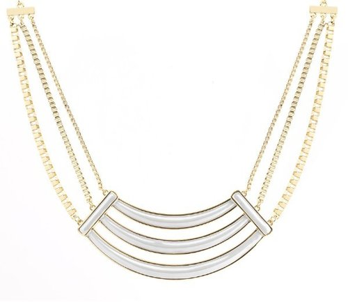Belle Noel By Kim Kardashian Enameled Collar Necklace