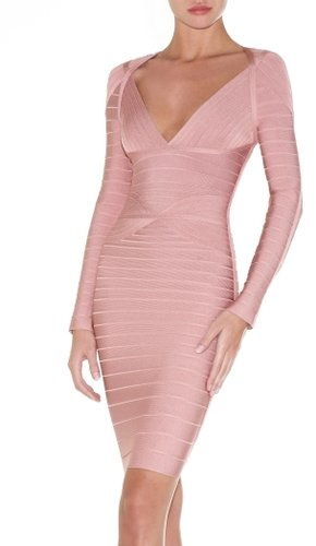 Herve Leger Florencia Bandage Dress