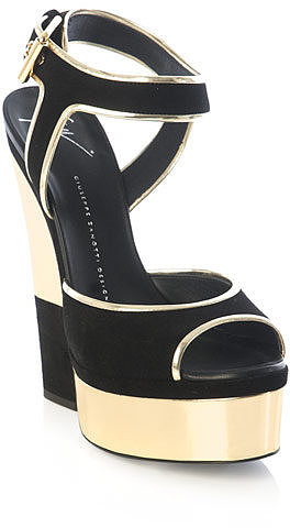 Giuseppe Zanotti Cut-out wedge sandals