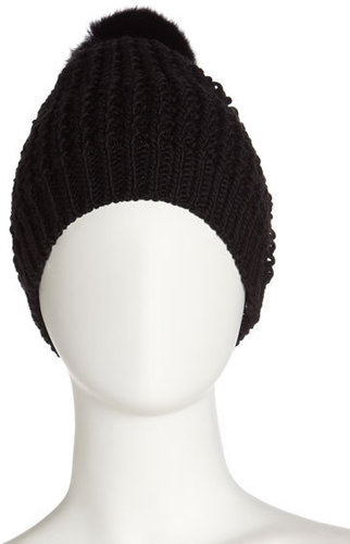 Black Knit Hat
