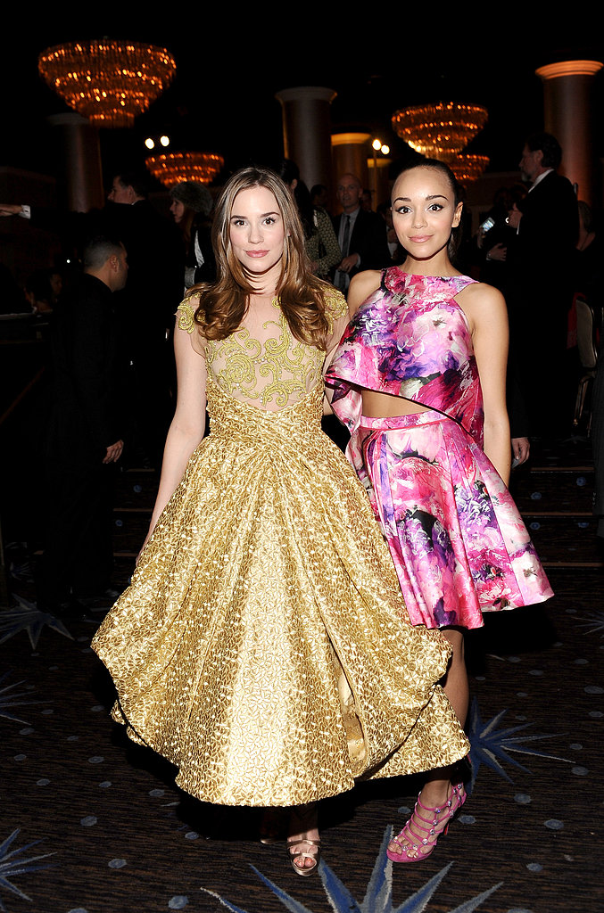 Ashley Madekwe chatted with Christa B. Allen.