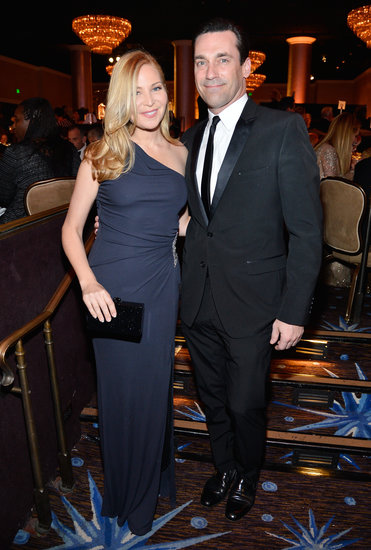 Jon Hamm attended the event with Jennifer Westfeldt.