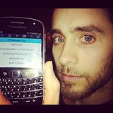 Jared Leto celebrated his status as a worldwide trending topic on Twitter. Source: Twitter user JaredLeto
