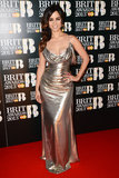 Bérénice Marlohe wore a metallic gown to the Brit Awards in London.