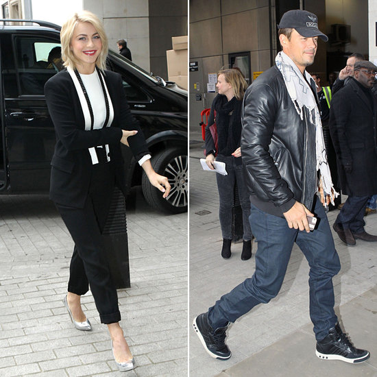 Josh and Julianne Make a Radio Stop as They Take Safe Haven Around London