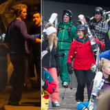 Prince Harry Hits the Slopes With Girlfriend Cressida Bonas