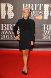 Olympics closing ceremony performer Emeli Sandé stepped out for the Brit Awards in London.