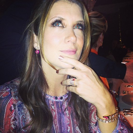 Kate Walsh got thoughtful during a Bulgari event. Source: Twitter user katewalsh