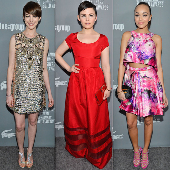 Hollywood's Style Set Glams Up For the Costume Designers Guild Awards