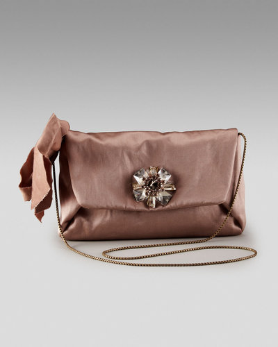 Lanvin Satin Mai-Tai Pouch