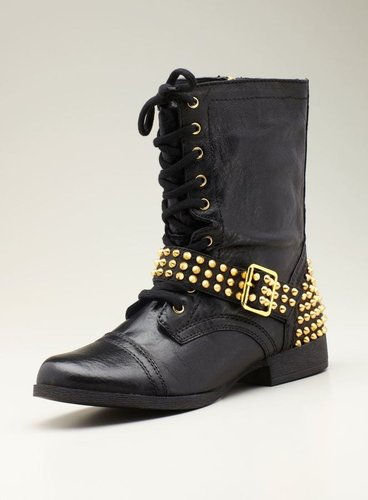 Steve Madden Ternn Motorcycle Boot With Studs