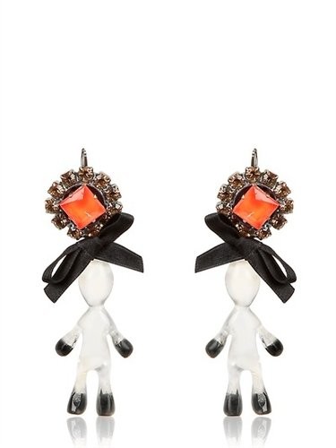 Marni - Twin Doll & Bow Earrings
