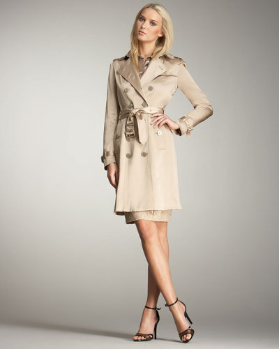 Burberry London Satin Trenchcoat