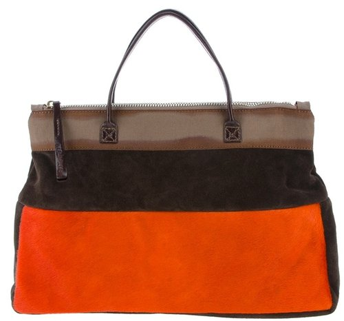 Malìparmi colour block shoulder bag