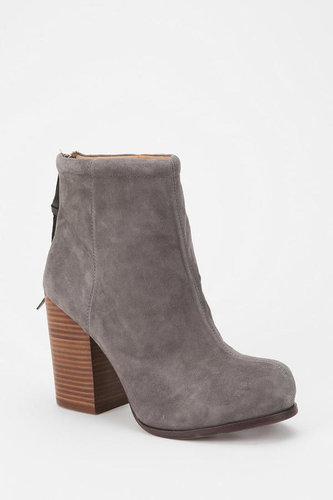 Grey Suede Boots
