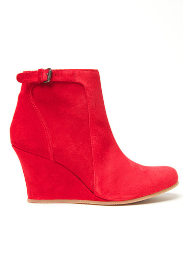 Lanvin Low Wedge Bootie