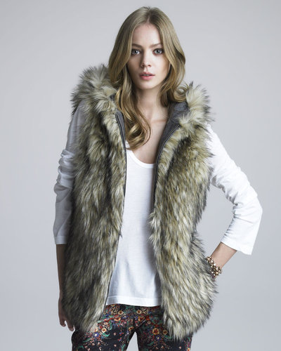 6 Shoreroad Reversible Faux-Fur Vest