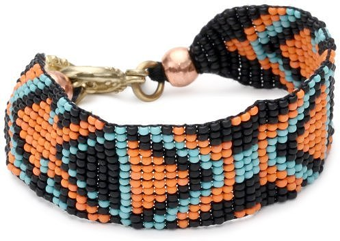 Vanessa Mooney Bead It! Orange Bracelet