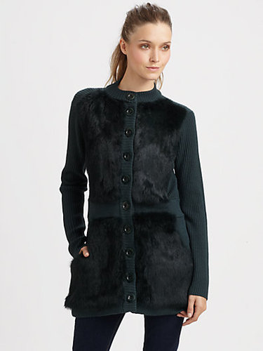 Nanette Lepore Divine Sweater Coat