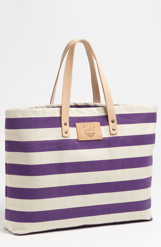 Will Leather Goods 'Bright Stripe' Tote