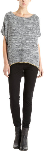 Diane von Furstenberg Branitta Tweed Sweater