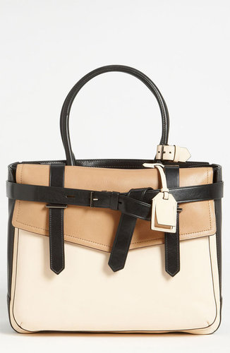 Reed Krakoff 'Boxer 1' Tricolor Leather Satchel