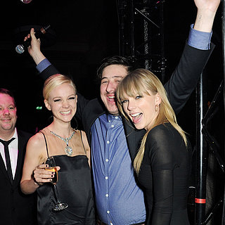 Taylor Swift DJing at Brit Awards Afterparty | Pictures