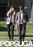 Drew Barrymore and Will Kopelman linked up in LA for an afternoon date in December 2011.