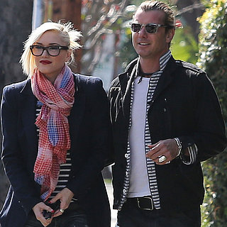 Gwen Stefani Wearing Glasses With Gavin Rossdale | Pictures