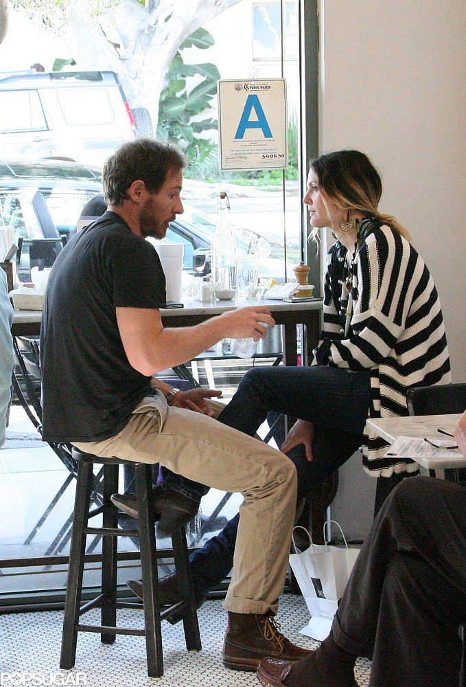 Drew Barrymore and Will Kopelman grabbed a quiet lunch at a West Hollywood restaurant in March 2011.