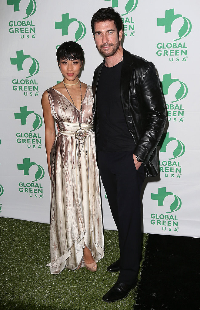 Dylan McDermott and Shasi Wells walked the green carpet together.