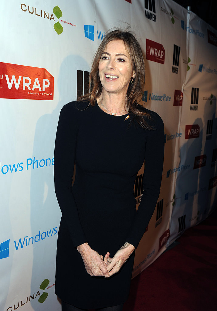 Kathryn Bigelow attended TheWrap's pre-Oscars bash in LA on Wednesday.