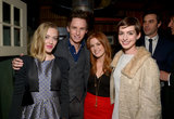 Amanda Seyfried, Eddie Redmayne, Isla Fisher, and Anne Hathaway partied at a separate Vanity Fair celebration for Les Misérables.