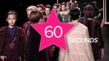 A Look at New York Fashion Week — in 60 Seconds!
