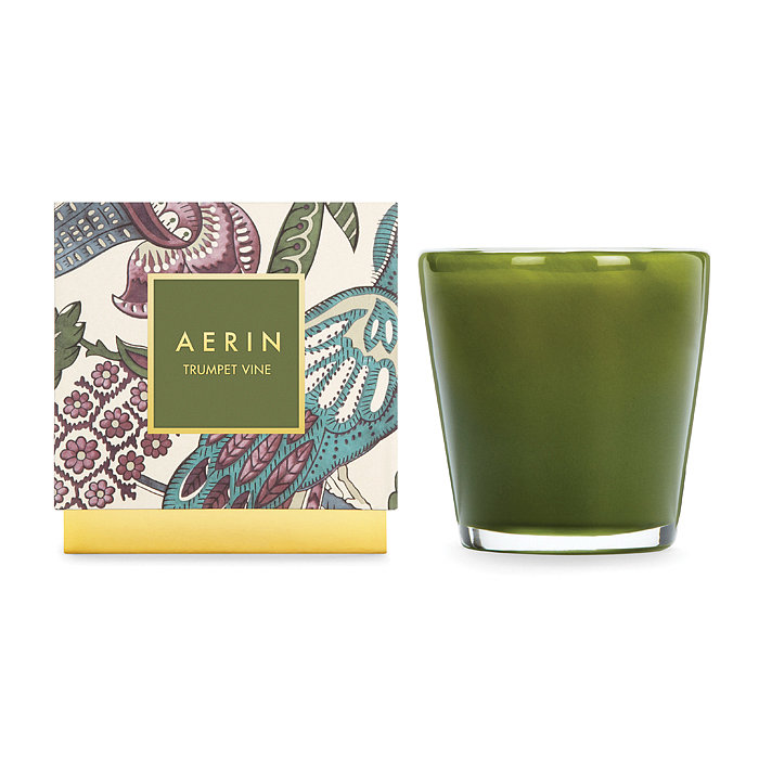 Create a cozy vibe with the fresh fragrance of this trumpet vine candle ($58), which carries notes of garden vines, lily of the valley, and musk.