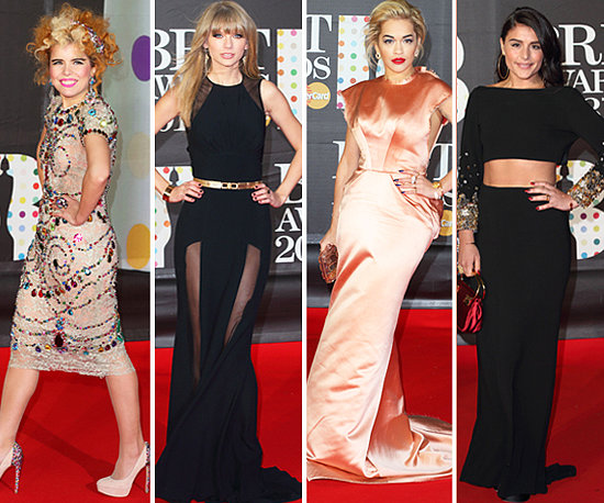 See What All The Stars Wore at The 2013 BRIT Awards