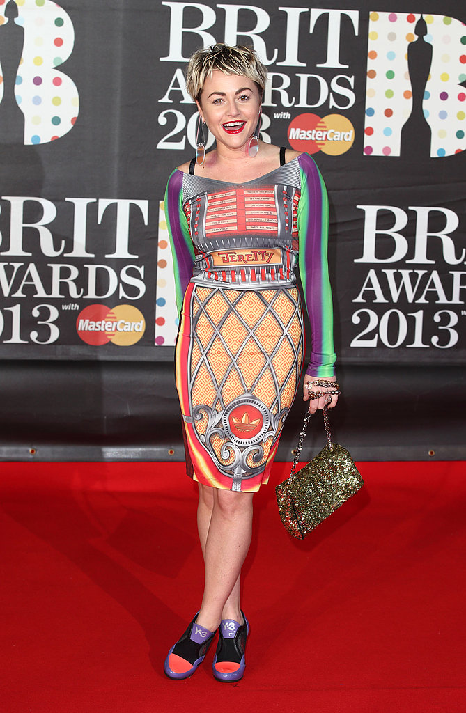 Jaime Winstone in Jeremy Scott