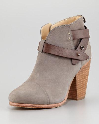 Rag & Bone Harrow Nubuck Ankle Boot, Gray