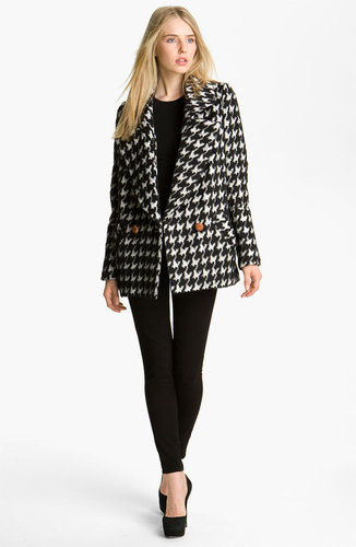 Smythe Houndstooth Coat
