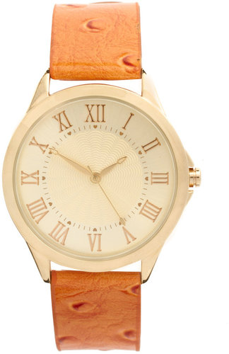 ASOS Boyfriend Watch with Colored Strap