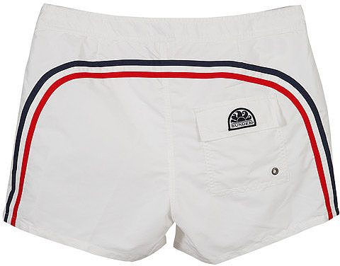 14 Inch Low Rise Boardshort in White #10 - by Sundek