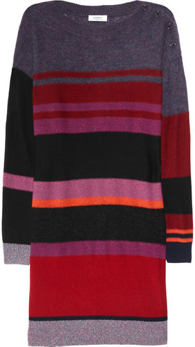 Sonia by Sonia Rykiel Striped wool-blend sweater dress