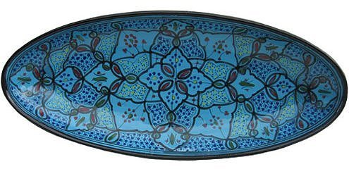 Le Souk Ceramique Extra Large Oval Serving Platter
